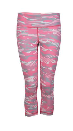 Warrior One Capri Pink Camo
