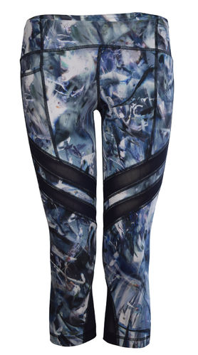 Printed Kick Capri Mercury