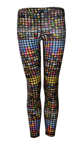 Emoji Performance Leggings