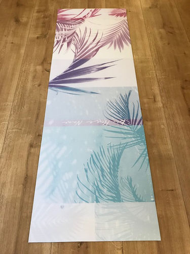 Tropical Palm Yogamatte Outlet