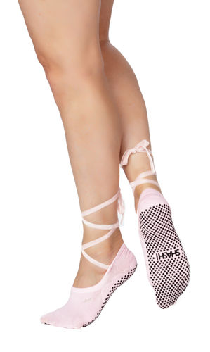 Essentials Ballet Tie Socken Pink