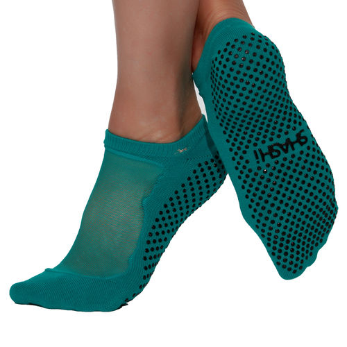 Classic Toe Socken - Peacock Blue
