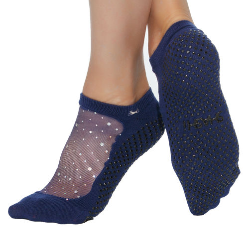 Star Toe Socken - Navy