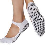 Sweet Regular Toe Socken Metallic White