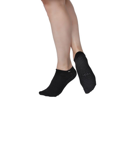 Basic Full  Foot Socken - Schwarz
